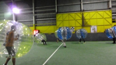 bubble football wellington