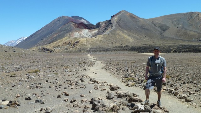 fraser on tongariro crossing