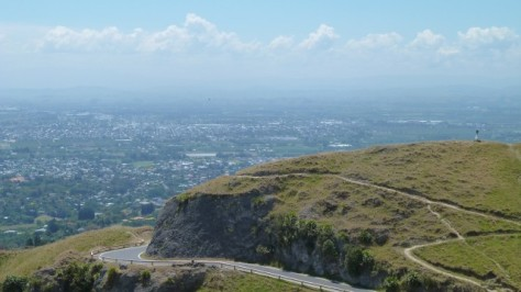 road up te mata peak