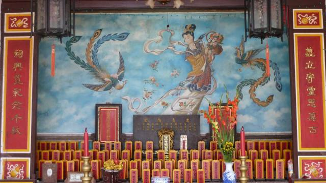shrine in hoi an vietnam