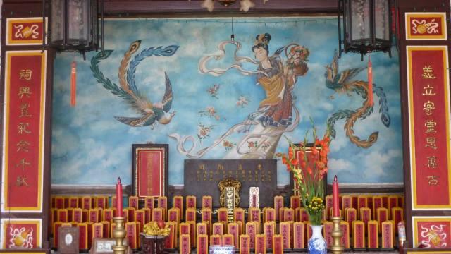 shrine in hoi an vietnam