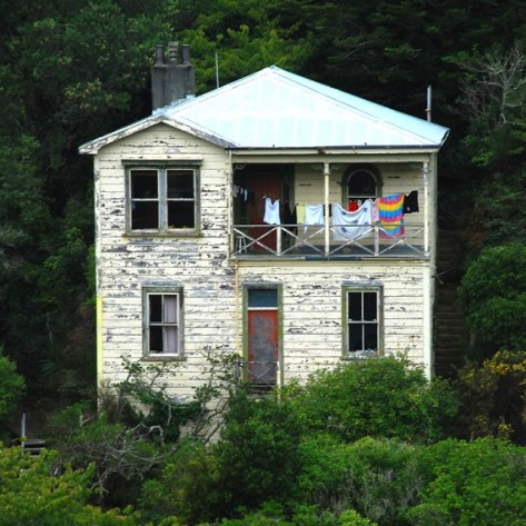 A house in Wellington, New Zealand.
